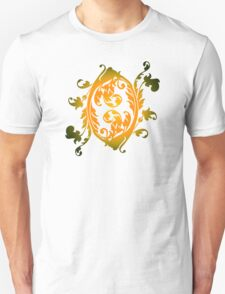 Floral Clam Shell Design T-Shirt