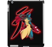 Mega Lucario - Satsui no Hado iPad Case/Skin