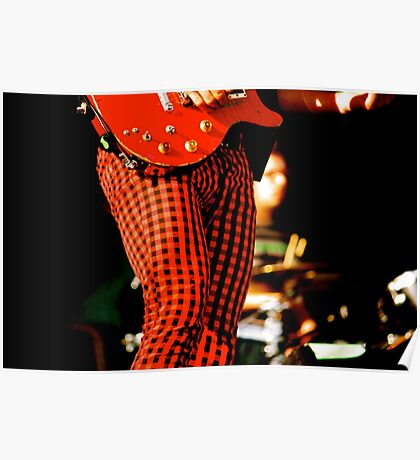 Joyful Red Pants Poster