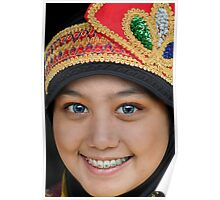 Indonesian Dancer Poster