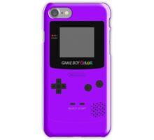 Game Boy Violet iPhone Case/Skin