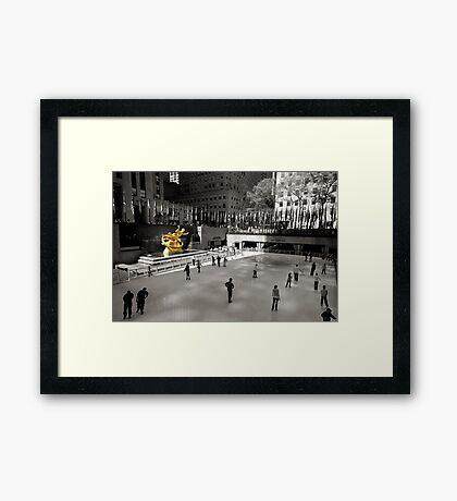 ~Prometheus @30 Rock~ Framed Print