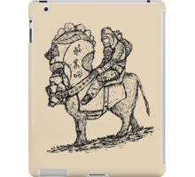 Lonely rider iPad Case/Skin