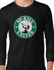 NO-KILL UNITED : LOGO Long Sleeve T-Shirt