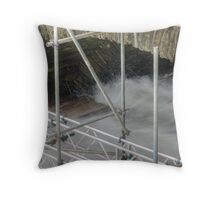 The Scaffold Series.....Great Timing Throw Pillow