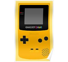 Game Boy Yellow Poster