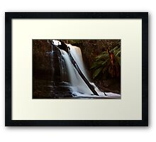 "Lilydale Falls @ 31mm"" Framed Print"