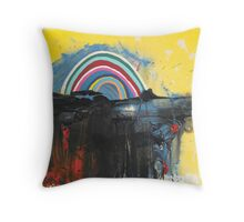 I'm New Here Throw Pillow