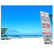 The Beach Rules by GuyGabin