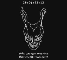 Donnie Darko - Why are you wearing that stupid man suit? wht by buud