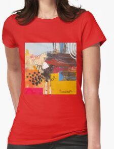 Follow The Fellow Who Follows A Dream. Womens Fitted T-Shirt