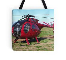 Hughes 500 Helicopter Tote Bag