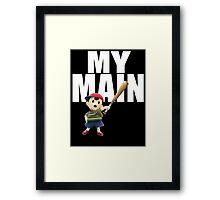 My Main - Ness Framed Print