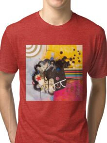 Look To The Rainbow #3. Tri-blend T-Shirt