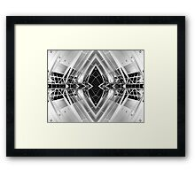 Architecture Between [ 01 ]  Framed Print