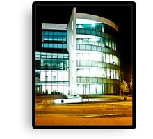 24 Hour Office Canvas Print