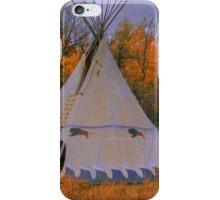 Plains Cree Teepee iPhone Case/Skin