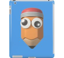 Googly-Eyed Pencil iPad Case/Skin