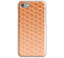 Orange Scales iPhone Case/Skin