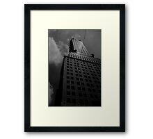 Deco-dence Framed Print