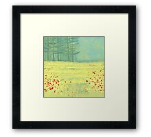 Meadow near Périgueux Framed Print