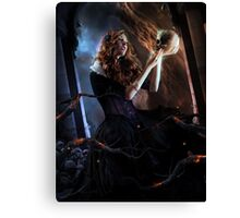 Black Widow Cordelia Canvas Print