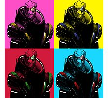 Garrus Vakarian Pop Art Photographic Print