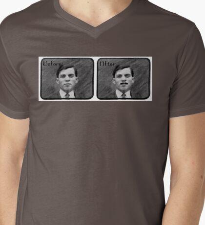 Insta-'stache (Mission Monday) Mens V-Neck T-Shirt
