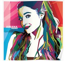 Ariana Grande Vintage Style  Poster