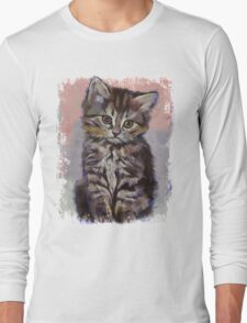 Kitten Long Sleeve T-Shirt