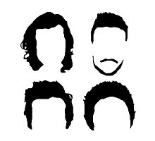 One Direction Hair Silhouette (no text) by hrowlettdesigns