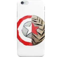 Captain America/Winter Soldier Shield iPhone Case/Skin