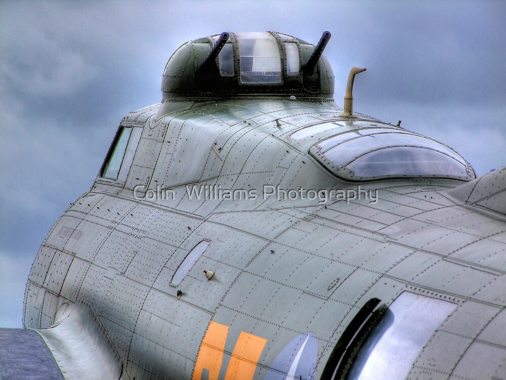 Calm Before the Storm - B -17G Sally-B - HDR by Colin  Williams Photography