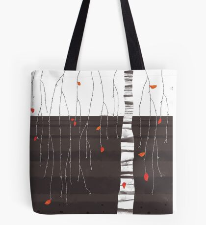 the last of the leaves Tote Bag