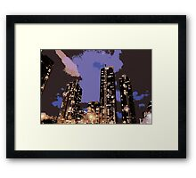Toronto Lights Part 2 Framed Print