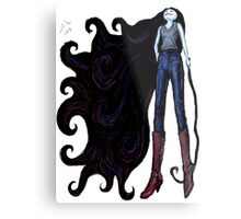 """Marceline in Jeans, 2014"" Metal Print"