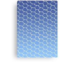 Blue Scales Canvas Print