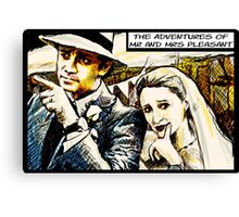 Mr and Mrs Pleasant, 2014 Canvas Print