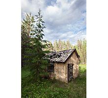 Fairytale Cottage Photographic Print