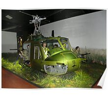 Bell Iroquois (Huey) Display Poster