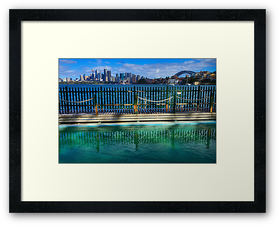 Pool With A View - Cremorne - Sydney Australia by Bryan Freeman