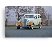 1935 Chevrolet Master Deluxe Sedan Canvas Print