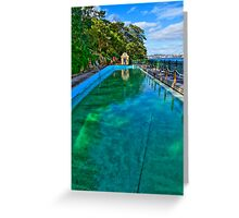 MacCallum Pool - Cremorne Point - Sydney - Australia Greeting Card