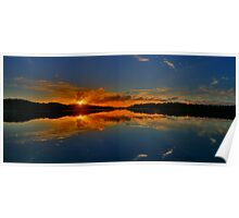 Welcome To My Morning - Narrabeen Lakes, Sydney (15 Exposure HDR Panorama) - The HDR Experience Poster