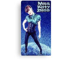 Miss Kitty Bliss, Supervillain, 2013 Canvas Print