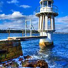 Robertson&#x27;s Point Lighthouse - Sydney - Australia by Bryan Freeman