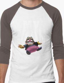 My Main - Wario Men's Baseball ¾ T-Shirt