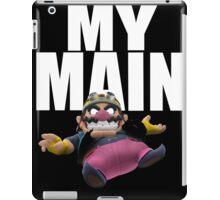 My Main - Wario iPad Case/Skin
