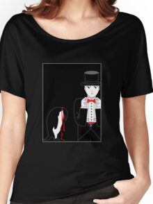 Mime Penguin Women's Relaxed Fit T-Shirt