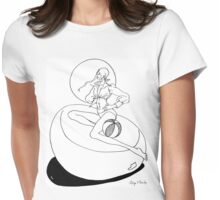 """Helga's Fashion Mannequins Series Poster 8 Midriff Top""© Womens Fitted T-Shirt"